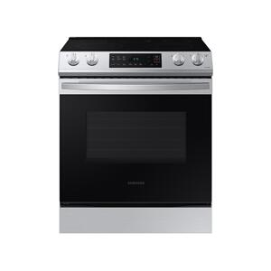 Samsung Appliances6.3 cu ft. Smart Slide-in Electric Range in Stainless Steel