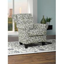 2021 Lena Collection Print Fabric Accent Chair