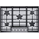 Thermador30-Inch Masterpiece(R) Pedestal Star(R) Burner Gas Cooktop, ExtraLow(R) Select