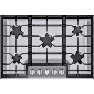 ThermadorGas Cooktop 30'' Stainless Steel SGSXP305TS
