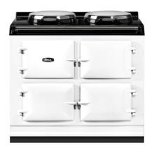 "AGA Total Control 39"" Electric White with Stainless Steel trim"
