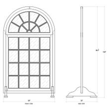 Large Regency Window w/ Stand