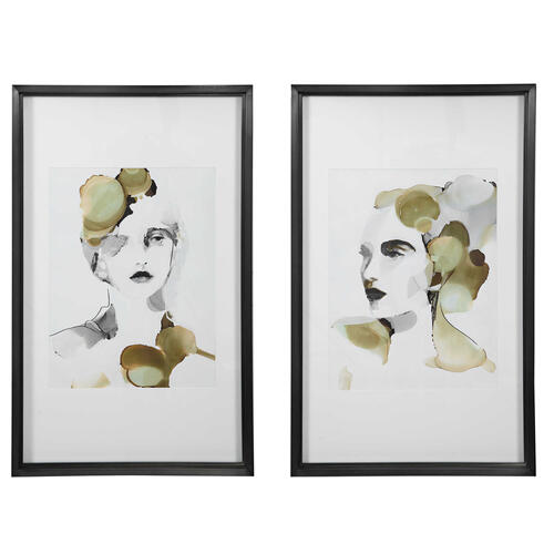 Product Image - Organic Portrait Framed Prints, S/2, 2 Cartons