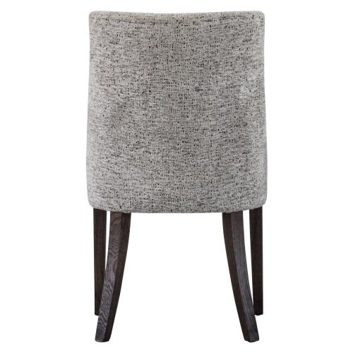 New Paris Fabric Chair, Drizzle Gray