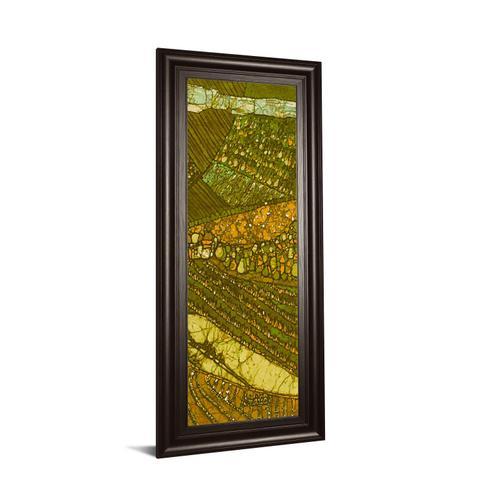 """Vineyard Batik Il"" By Andrea Davis Framed Print Wall Art"