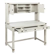 See Details - Hutch for Baton Rouge Desk Btd2937 In Champagne Oak Finish
