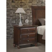 See Details - Concord Cherry Finish solid wood construction Nightstand