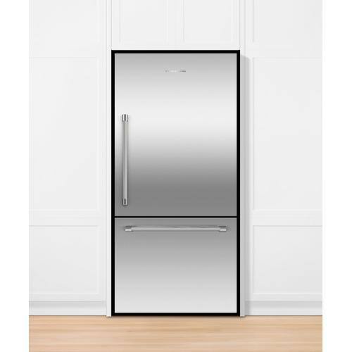"Fisher & Paykel - Freestanding Refrigerator Freezer, 32"", 17.1 cu ft, Ice"