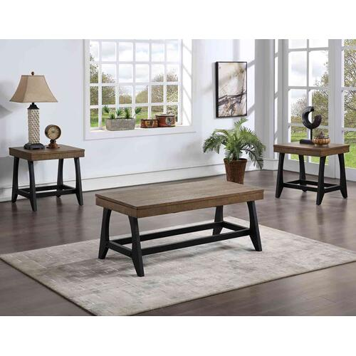 Ralston 3-Piece Lift-Top Set (Lift-Top Cocktail Table & 2 End Tables)