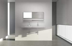 Floating sink With Decorative Trim Product Image