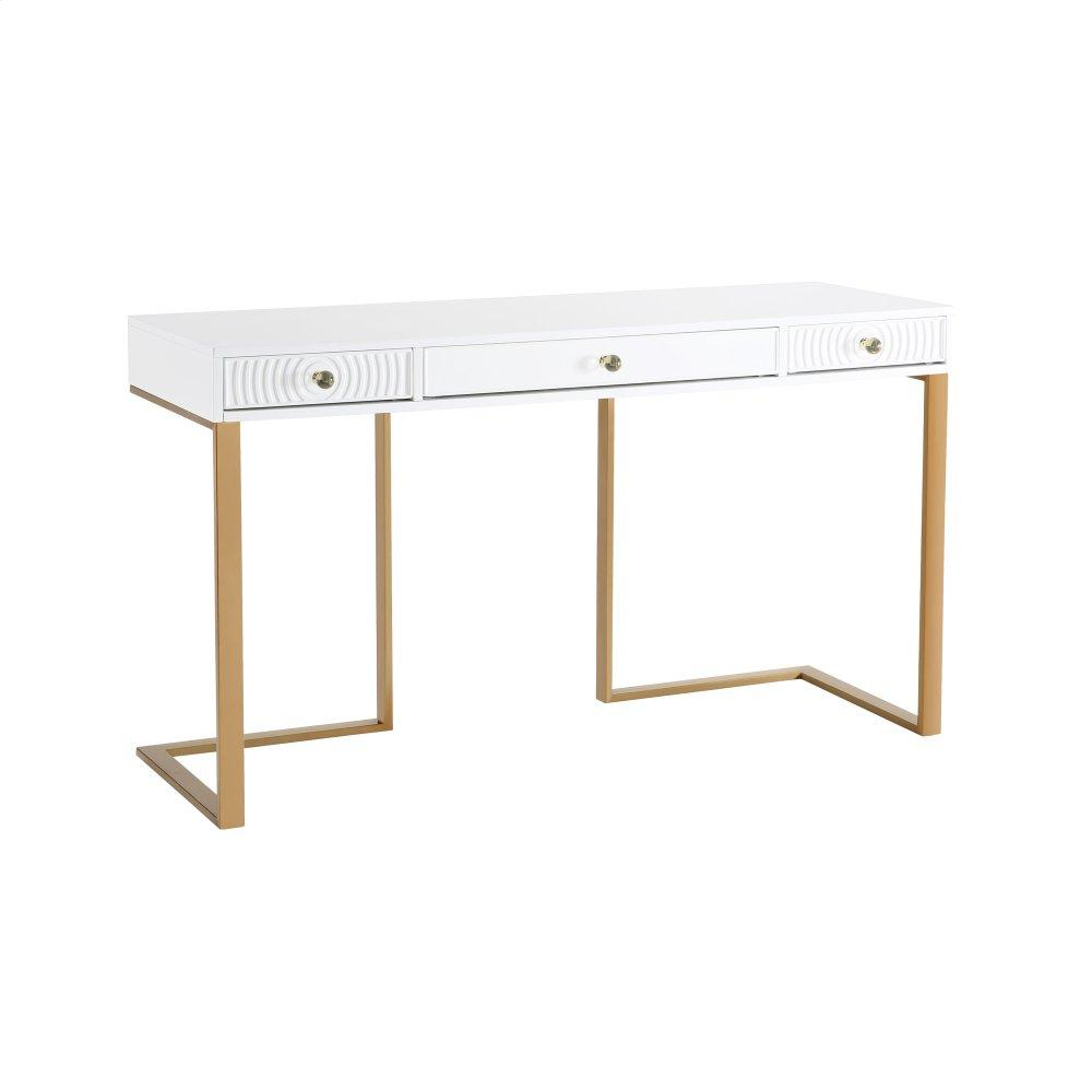 See Details - Janie White Lacquer Desk