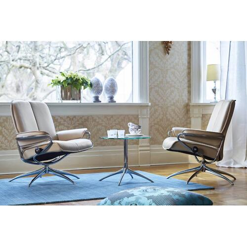 Stressless By Ekornes - Stressless City chair low back standard base