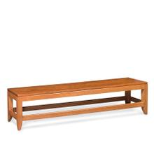 """Justine Dining Bench, Justine Dining Bench, 36""""w, Fabric Seat"""