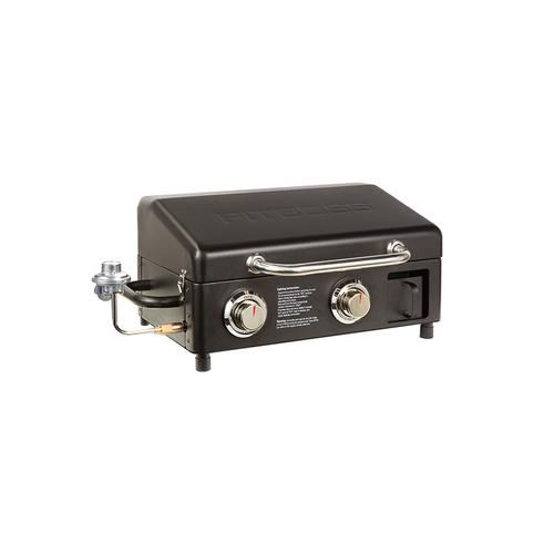 Pit Boss - Sportsman Portable Tabletop 2-Burner Griddle