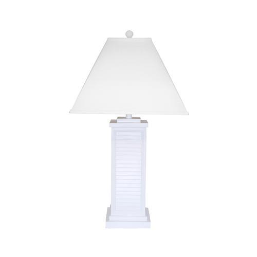 Gallery - PR151-WH Shutter Table Lamp