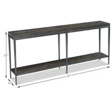 See Details - Solaris Console Table, Artisan Grey