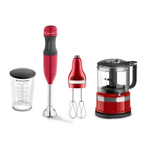 KitchenAid - Exclusive Blend, Mix and Chop Set - Empire Red