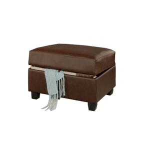 Gallery - Bonded leather match Ottoman