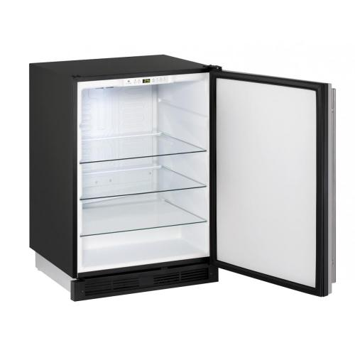 """24"""" Solid Door Refrigerator Stainless Door, Field Reversible Hinge, Discontinued Model / No Warranty / New in Box / No Returns, Exchanges, or Refunds, Pick Up Only, Linthicum, Md / ID: CNTR0013"""