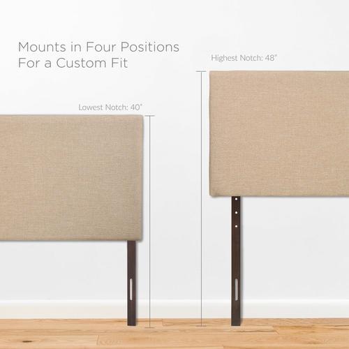 Modway - Region Queen Upholstered Headboard in Cafe
