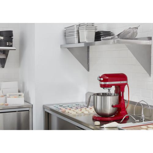 NSF Certified® Commercial Series 8-Qt Bowl Lift Stand Mixer - Empire Red