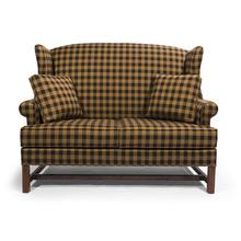 See Details - High Back Settee-Two Seat Cushion