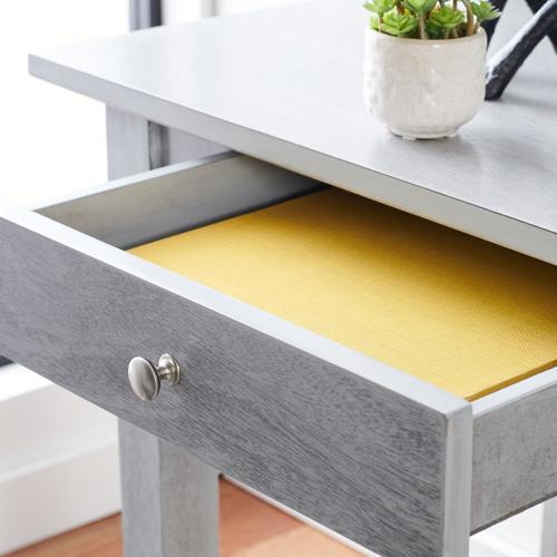 Winsome 2 Drawer Desk - Dark Grey