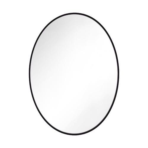 Feiss - Kit Oval Mirror Midnight Black