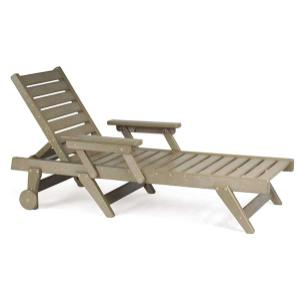 Chaise Lounge Chair with Wheels