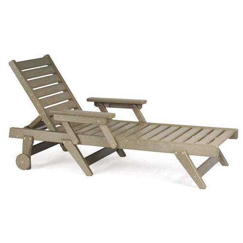 Breezesta - Chaise Lounge Chair with Wheels