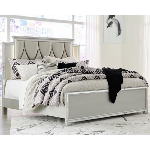 Lindenfield California King Panel Bed