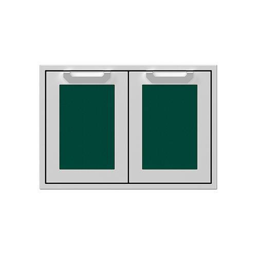"""30"""" Hestan Outdoor Double Access Doors - AGAD Series - Grove"""