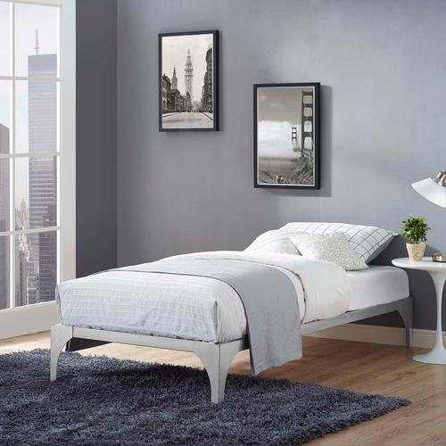 Modway - Ollie Twin Bed Frame in Silver