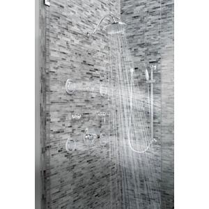 Mosaic chrome body spray