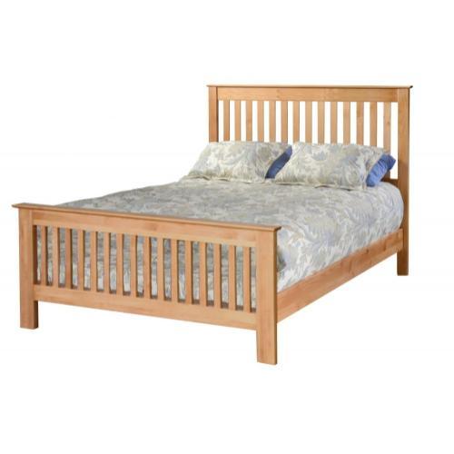Shaker Slat Bed