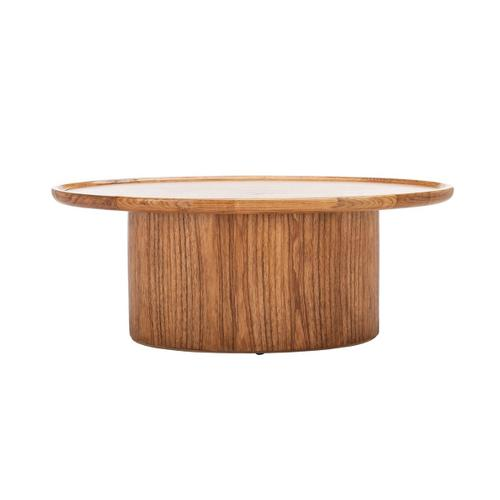 Safavieh - Flyte Oval Coffee Table - Natural