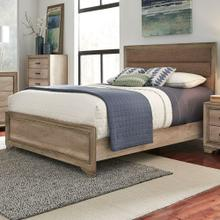 King California Uphosltered Bed