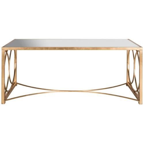 Melosa Coffee Table - Antique Gold Leaf