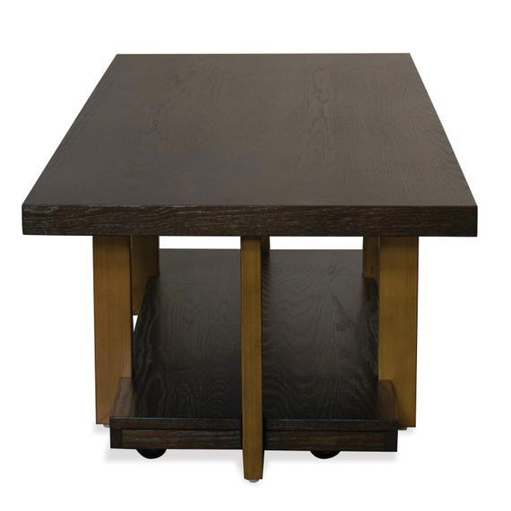Riverside - Magnus - Coffee Table - Umber Finish