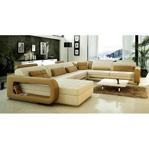 Divani Casa 1005 - Modern Bonded Leather Sectional Sofa
