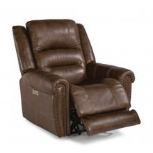 See Details - Jeremiah Leather Power Recliner with Power Headrest