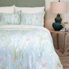 Reef Duvet Cover & Shams, LAKE, KG