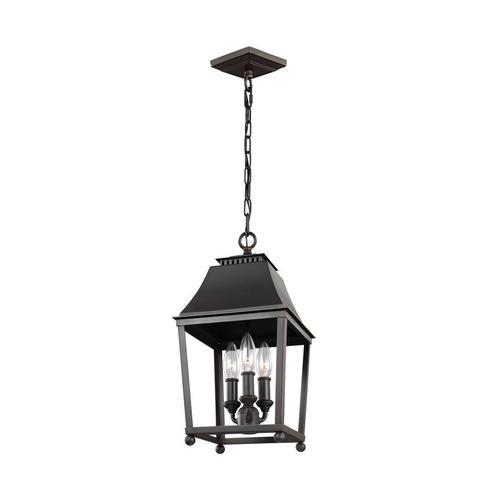 Galloway Small Lantern Dark Antique Copper / Antique Copper