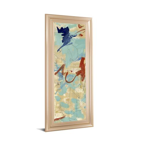 """Composition 4B"" By Melissa Wang Framed Print Wall Art"