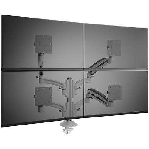 Kontour K1C Quad 2x2 Monitor Dynamic Column Mount