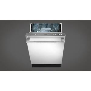 """Fulgor Milano24"""" Integrated Dishwasher With Stainless Steel Exterior - Stainless Steel"""