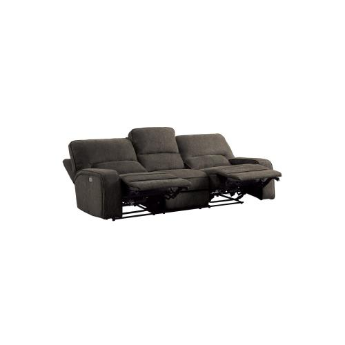 Power Double Reclining Sofa with Power Headrest and USB Ports