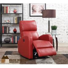 Maroon Power Recliner