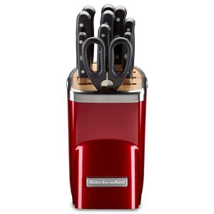 KitchenAid - 11pc Professional Series Cutlery Set - Candy Apple Red