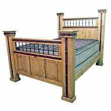 King Hierro Iron Bed